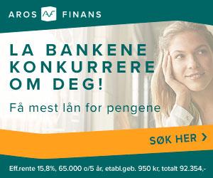 Aros Finans forbrukslån