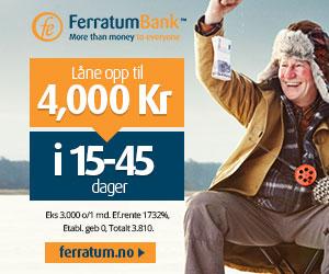 Ferratum Bank smålån