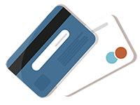 Kredittkort illustrasjon