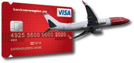 Norwegian VISA Kredittkort