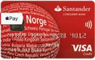 Santander Red VISA kredittkort